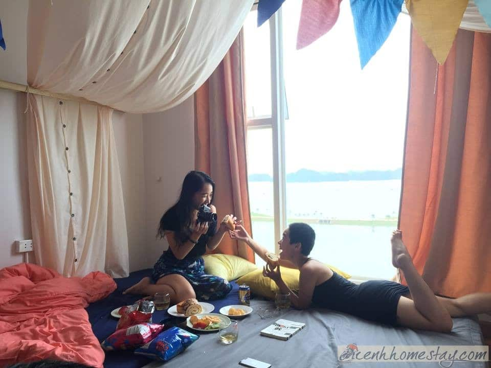 Top 4 beautiful homestays in Ha Long for tourists to change the wind